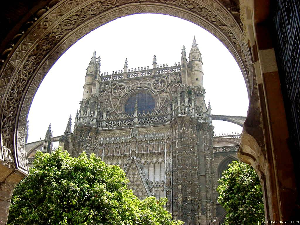 Fotos de sevilla for Exterior catedral de sevilla