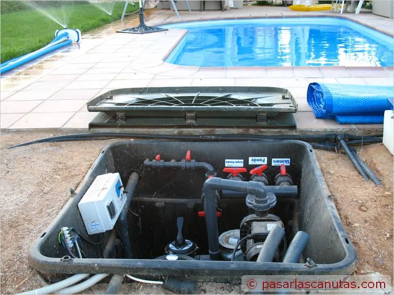 Bricolaje avanzado instalaci n experimental de agua - Instalacion piscina ...