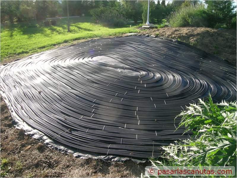 Bricolaje avanzado instalaci n experimental de agua - Calentar piscina solar ...